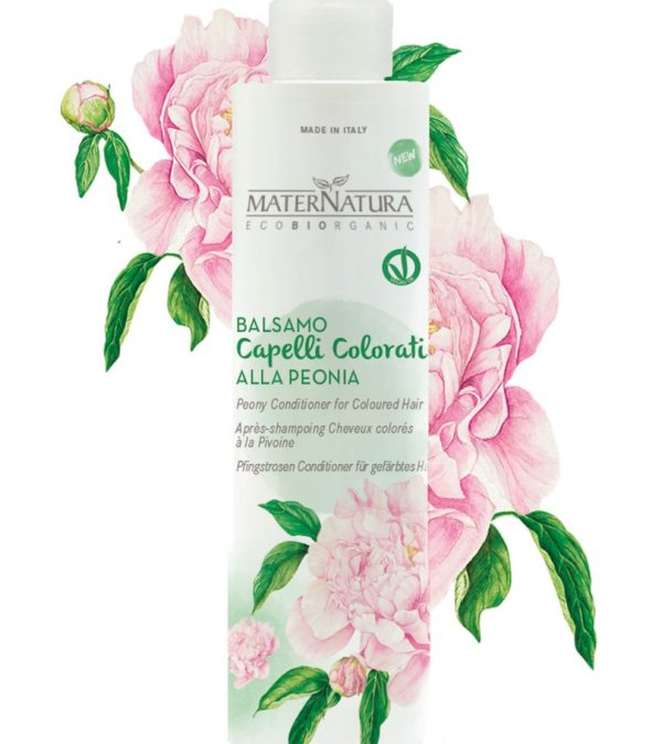 MaterNatura Peony Conditioner for Colored Hair bij Soin Total