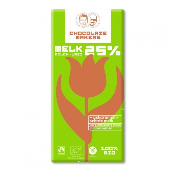 Chocolatemakers Melk 25% bij Soin Total