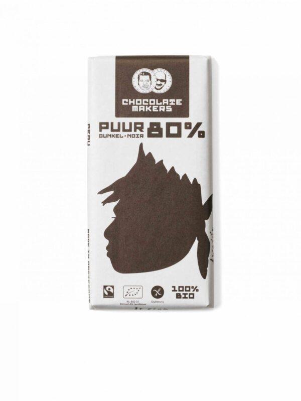 De Chocolatemakers Awajun Puur 80% bij Soin Total