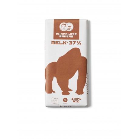 Chocolatemakers Gorilla Bar Milk 37% bij Soin Total