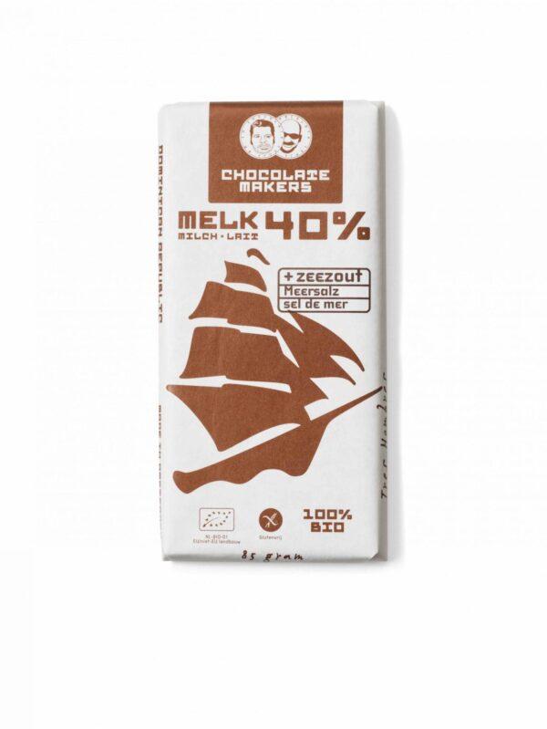 De Chocolatemakers Tres Hombres Melk 40% bij Soin Total
